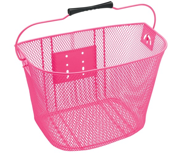 Electra Steel Mesh Basket Pink