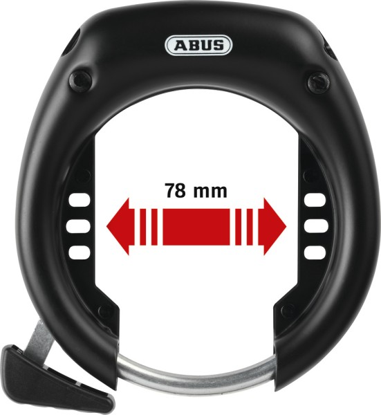 Abus SHIELD Plus 5750L NR BK OE