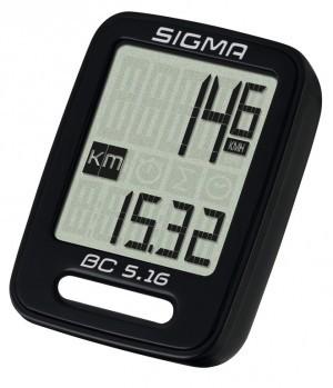 Sigma Fahrradcomputer BC 5.16 kabelgebunden
