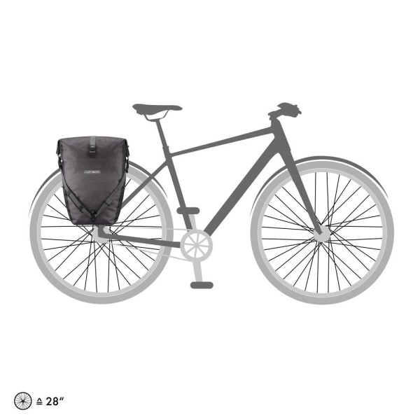 Ortlieb Back-Roller Plus granite - black