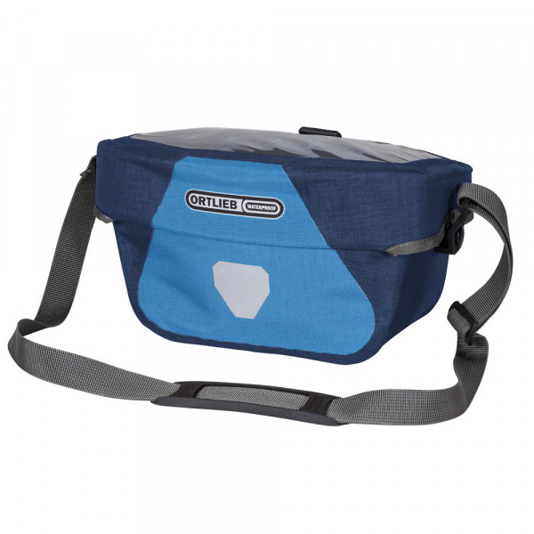 Ortlieb Ultimate Six Plus, denim- steel blue