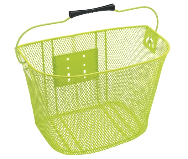 Electra Steel Mesh Basket Green