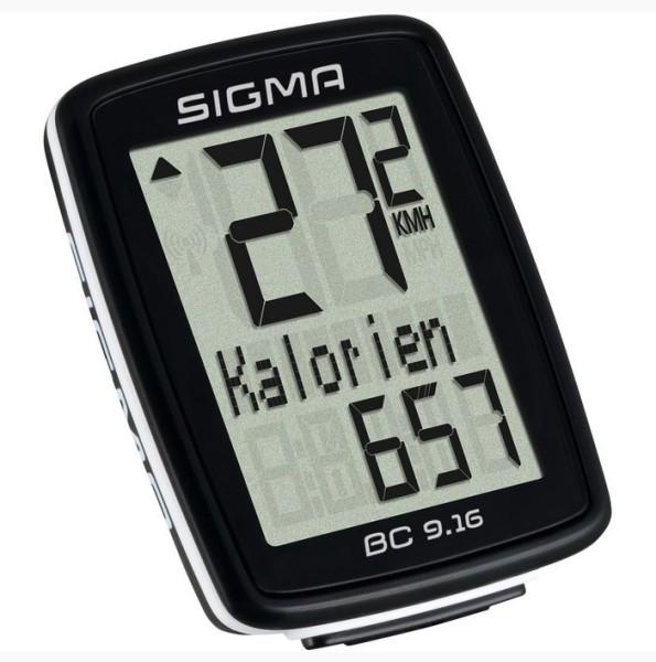 Sigma Fahrradcomputer BC 9.16 kabelgebunden