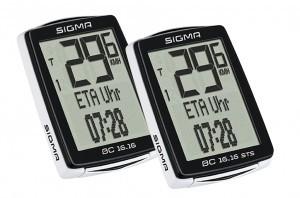 Sigma Fahrradcomputer BC 16.16 STS kabelos