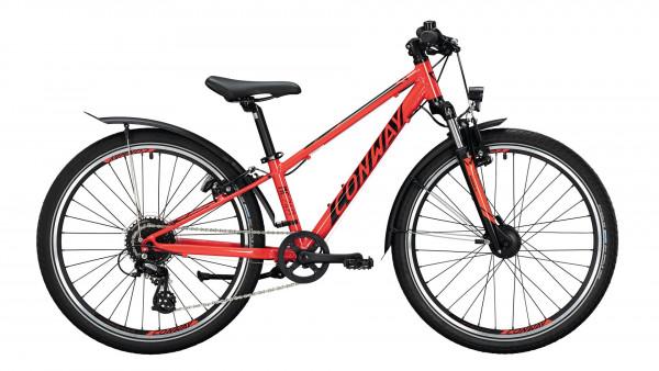 """Conway MC 240 FG MTB 24"""" red/black"""