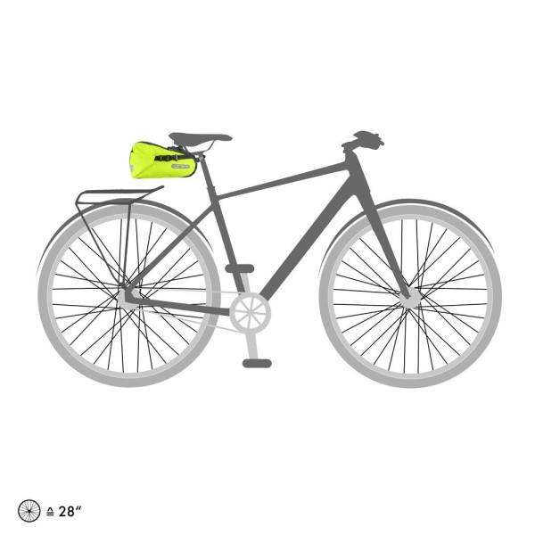 Ortlieb Saddle-Bag Two High Visibility neon yellow